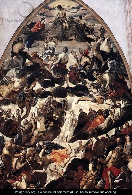 The Last Judgment (detail) - Jacopo Tintoretto (Robusti)