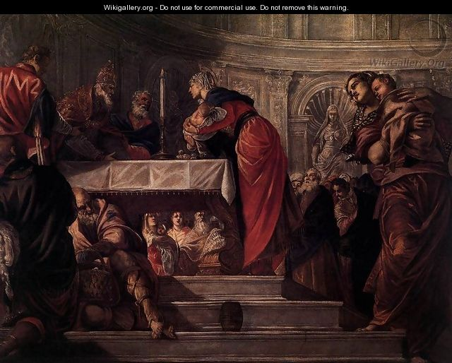 The Presentation of Christ in the Temple 2 - Jacopo Tintoretto (Robusti)