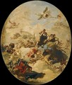 The Apotheosis of Hercules - Giovanni Domenico Tiepolo