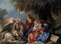 The Rest on the Flight to Egypt - Giovanni Domenico Tiepolo
