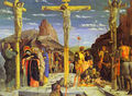 Calvary Center Of The Predella Painted For The Church Of San Zeno In Verona 1457-60 - Andrea Mantegna