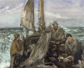 The Toilers of the Sea 1873 - Edouard Manet