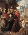 Christ Taking Leave of his Mother 1515 - Cornelis Engelbrechtsen