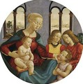 Madonna with Child the Young St John and Two Angels c 1500 - Bastiano Mainardi