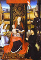 The Virgin And Child With An Angel St George And A Donor 1470-80 - Hans Memling