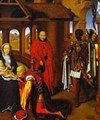 The Adoration Of The Magi Detail 2 1470s - Hans Memling