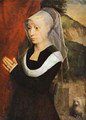 Portrait Of A Praying Woman 1485 - Hans Memling