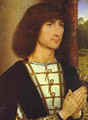 Portrait Of A Praying Man 1480-1485 - Hans Memling