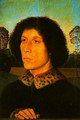 Portrait of a Man in a Landscape - Hans Memling
