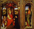 Altar Of Saints John The Baptist And John The Evangelist - Hans Memling
