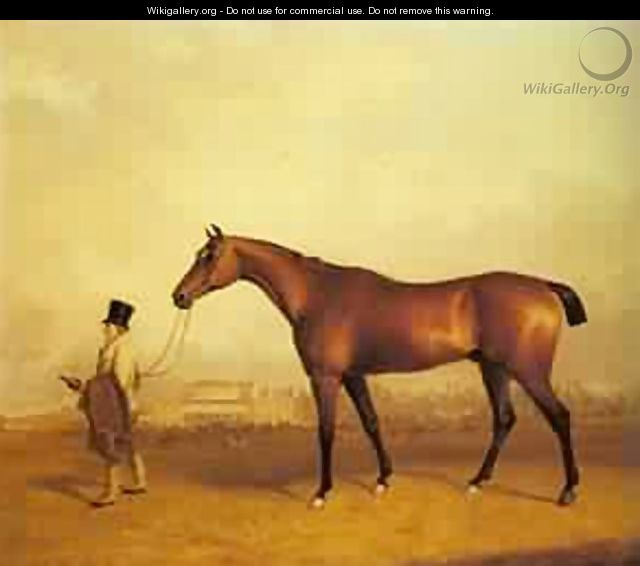 Emilius Winner Of The 1832 Derby - John Faulkner