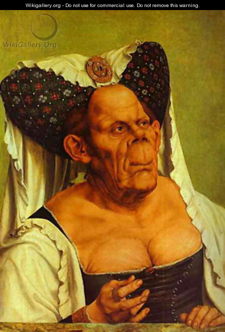 Old Woman (The Queen Of Tunis) 1513 - Workshop of Quentin Massys
