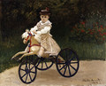 Jean Monet on His Hobby Horse 1872 - Claude Oscar Monet