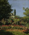 Garden in Flower 1866 - Claude Oscar Monet