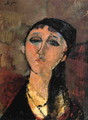 Portrait of a Young Girl (aka Louise) 1915 - Amedeo Modigliani