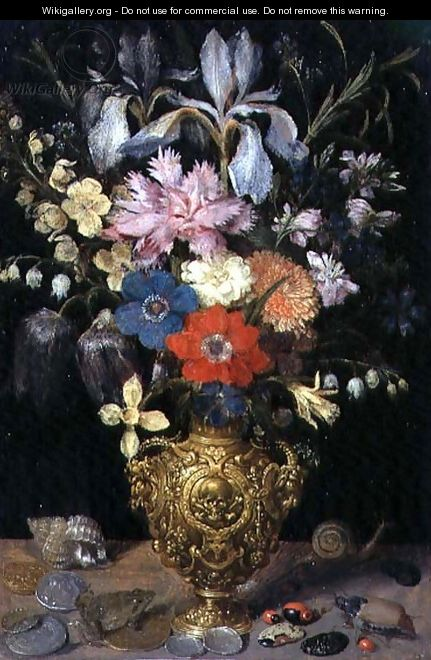 Still Life with Flowers 1604 - Georg Flegel