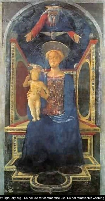 Madonna And Child 1435 2 - Domenico Di Michelino