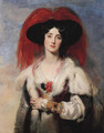 Lady Peel 1827 - Sir Thomas Lawrence