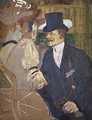 The Englishman (William Tom Warrener) at the Moulin Rouge 1892 - Henri De Toulouse-Lautrec