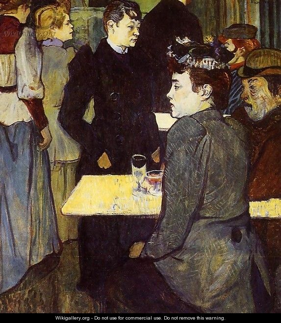 A Corner in the Moulin de la Galette 1892 - Henri De Toulouse-Lautrec