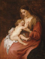 Virgin and Child possibly ca 1620 - Sir Anthony Van Dyck