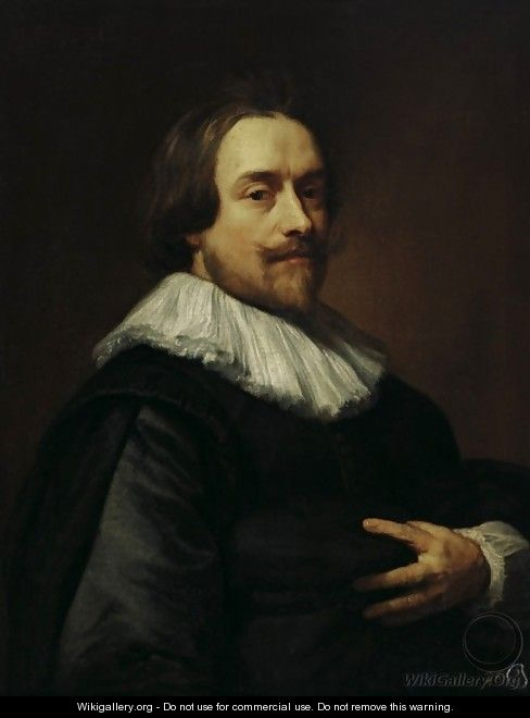 Portrait of a man - Sir Anthony Van Dyck