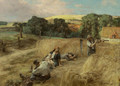 A Rest from the Harvest - Leon Augustin Lhermitte