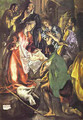The Adoration Of The Shepherds (Detail) 1596-1600 - El Greco (Domenikos Theotokopoulos)