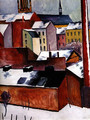 The Storm (1911) - August Macke