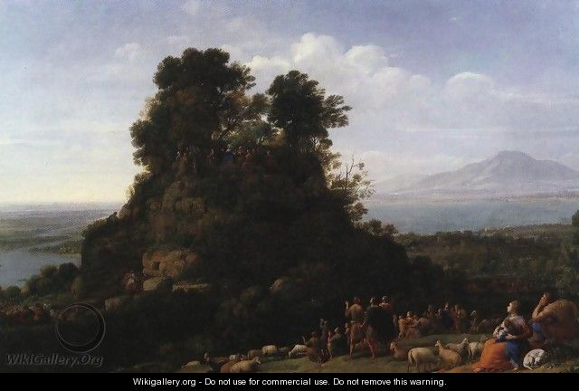 The Sermon on the Mount 1656 - Claude Lorrain (Gellee)