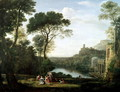 Landscape with the Nymph Egeria - Claude Lorrain (Gellee)