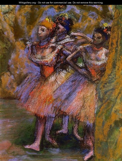 Three Dancers 1904-1906 - Edgar Degas