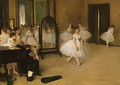 The Dancing Class probably 1871 - Edgar Degas