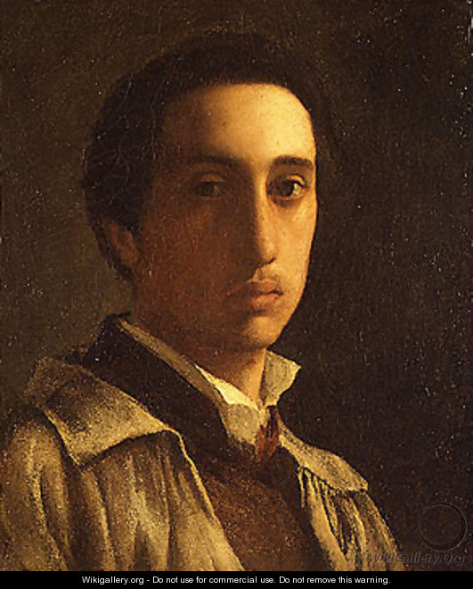 Self portrait possibly 1854 - Edgar Degas