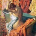 Seated Bather Drying Herself 1895 - Edgar Degas