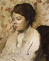 Portrait of a Young Woman ca. 1885 - Edgar Degas