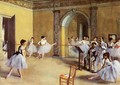 Dance Class at the Opera 1872 - Edgar Degas
