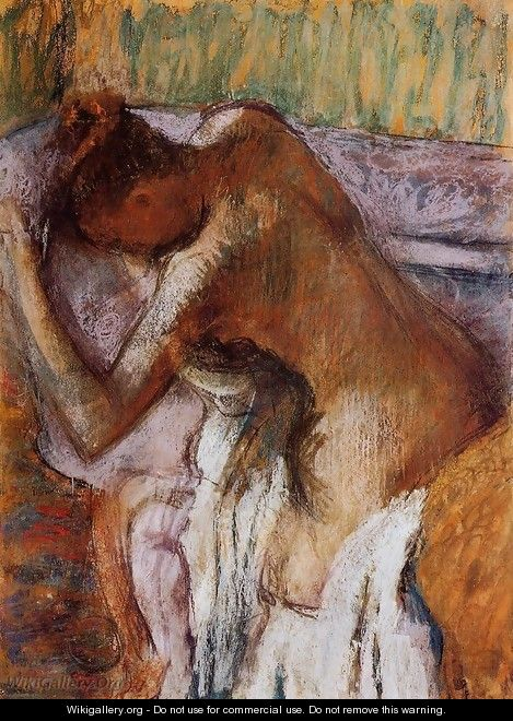 After the Bath 1900-1910 - Edgar Degas