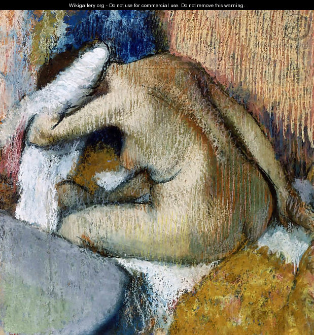 After the Bath 3 - Edgar Degas