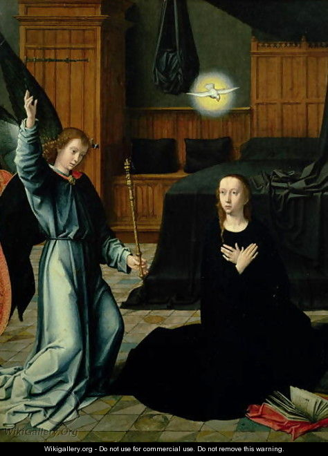 The Annunciation - Gerard David
