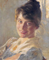 Marie Kroyer Portrait - Peder Severin Kroyer