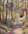 Marie in the Garden - Peder Severin Kroyer