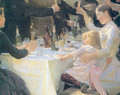 Hip hip hurray Detail - Peder Severin Kroyer