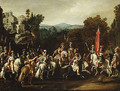 Departure of the Amazons 1620s - Claude Deruet