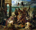 The Crusaders entry into Constantinople 12th April 1204 - Paul-Louis Delance