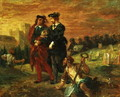 Hamlet and Horatio in the Cemetery 1859 - Eugene Delacroix