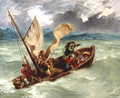 Christ on the Sea of Galilee - Eugene Delacroix