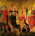 Tobias and the Three Archangels - Domenico Di Michelino