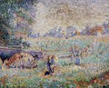 Cows in the Pasture - Emile Claus