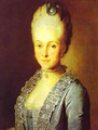 Portrait Of Alexandra Perfilyeva Nee Countess Tolstaya - Carl-Ludwig Christinek